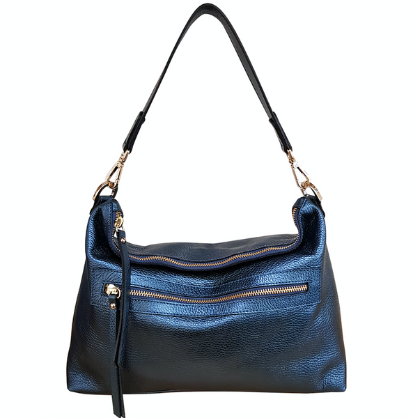 New Town Bag - Metallic Navy