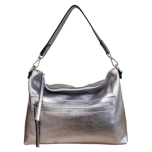 New Town Bag - Winter Silver
