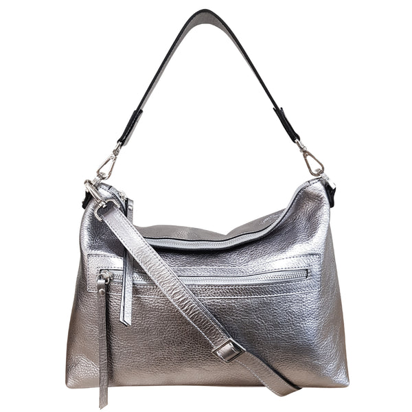 New Town Bag -  Silver