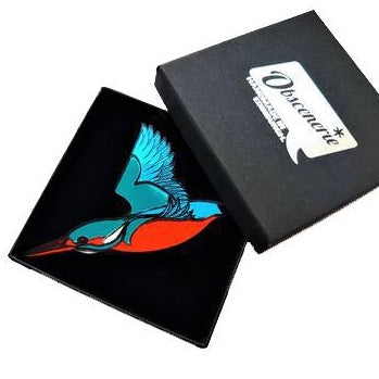 Kingfisher Brooch