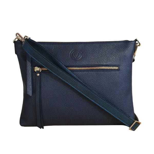 Waverley Bag - Navy/Metallic Navy