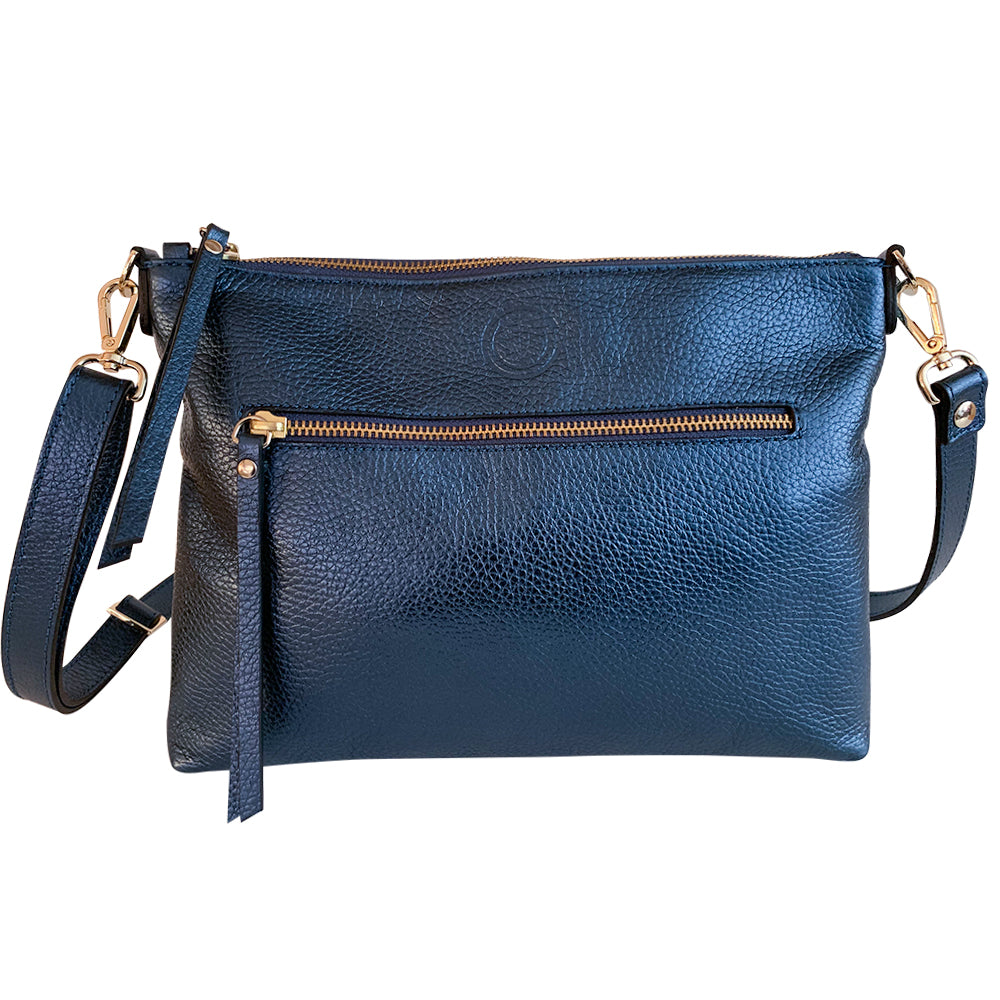 Waverley Bag - Metallic Navy