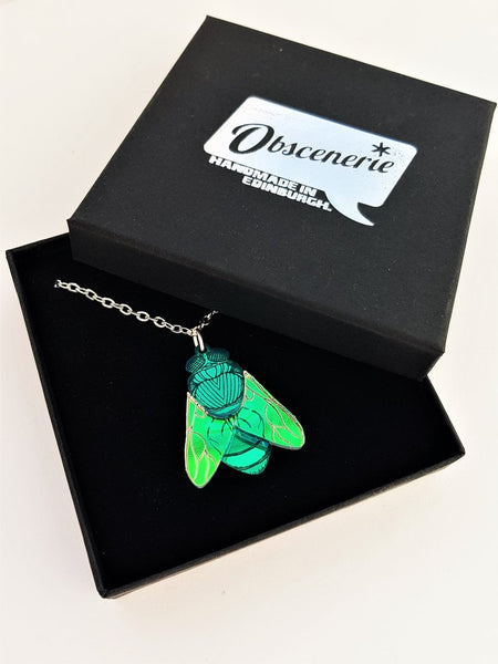 Bluebottle Necklace - Green