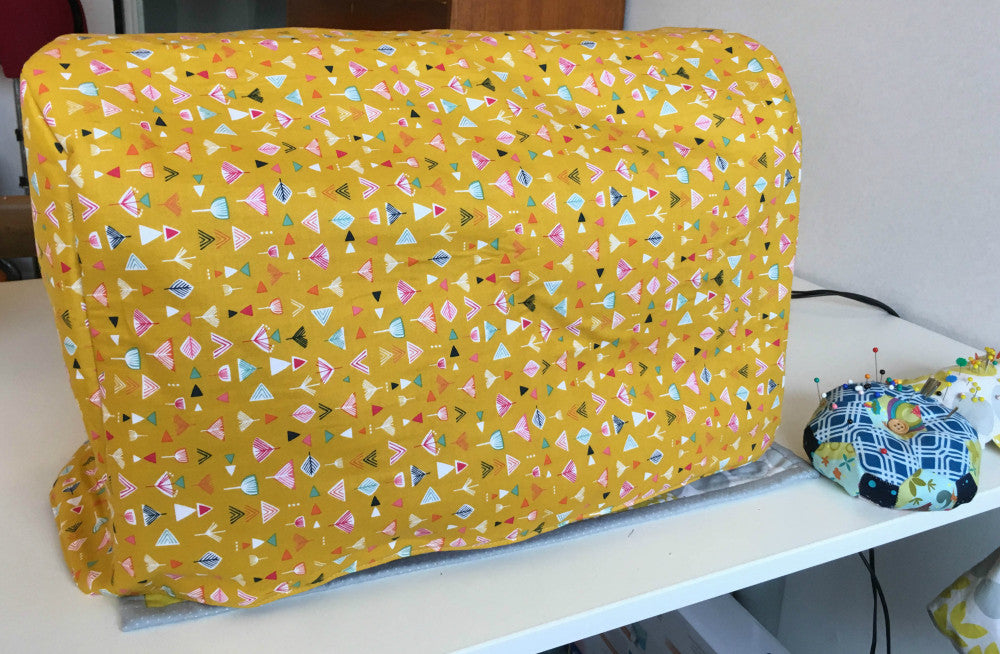 Sewing Machine Cover Tutorial – Simply Solids