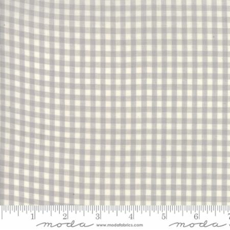 Behind The Scenes Woven by Jen Kingwell Grey Mist Small Checkers
