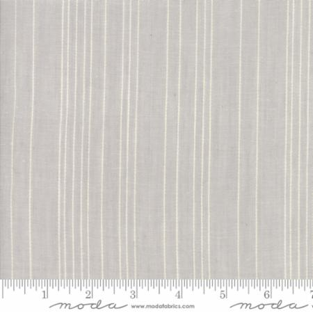 Behind The Scenes Woven by Jen Kingwell Grey Mist Cream Traces