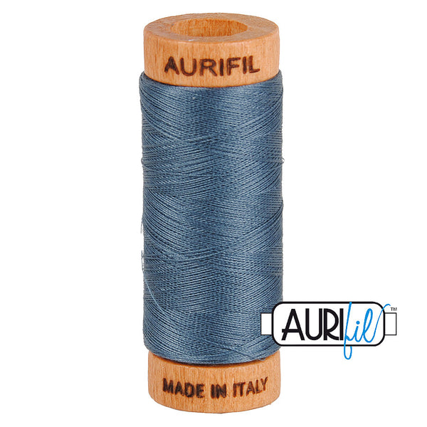 Aurifil Cotton 80wt #1158 Medium Grey
