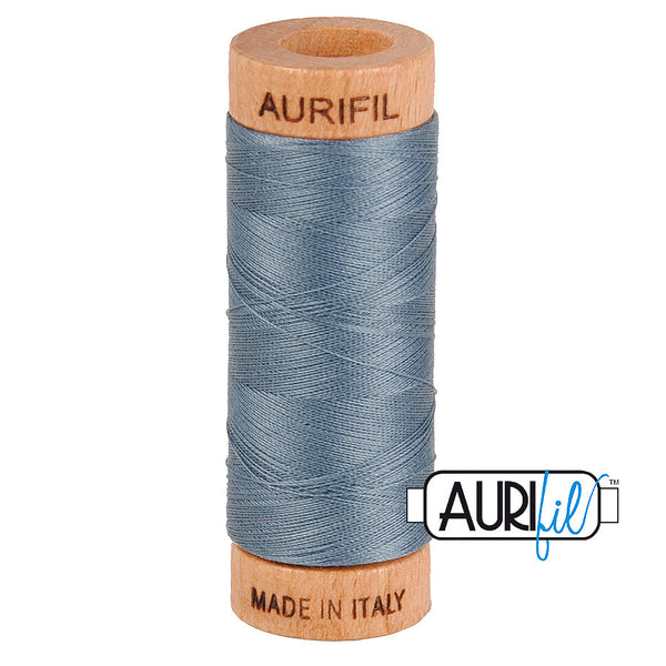 Aurifil Cotton 80wt #1246 Dark Grey