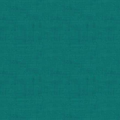 Linen Texture by Makower in Teal