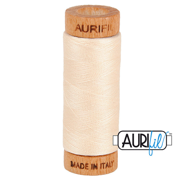 Aurifil Cotton 80wt #2000 Light Stand