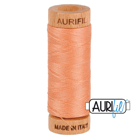 Aurifil Cotton 80wt #2215 Peach