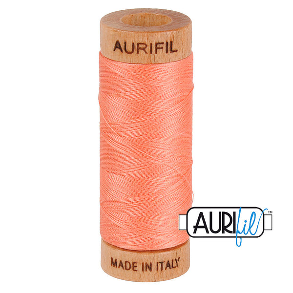 Aurifil Cotton 80wt #2220 Light Salmon