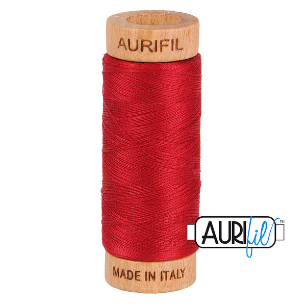 Aurifil Cotton 80wt #2260 Red Wine