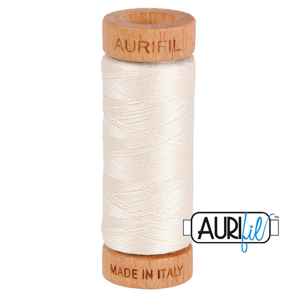 Aurifil Cotton 80wt #2311 Muslin