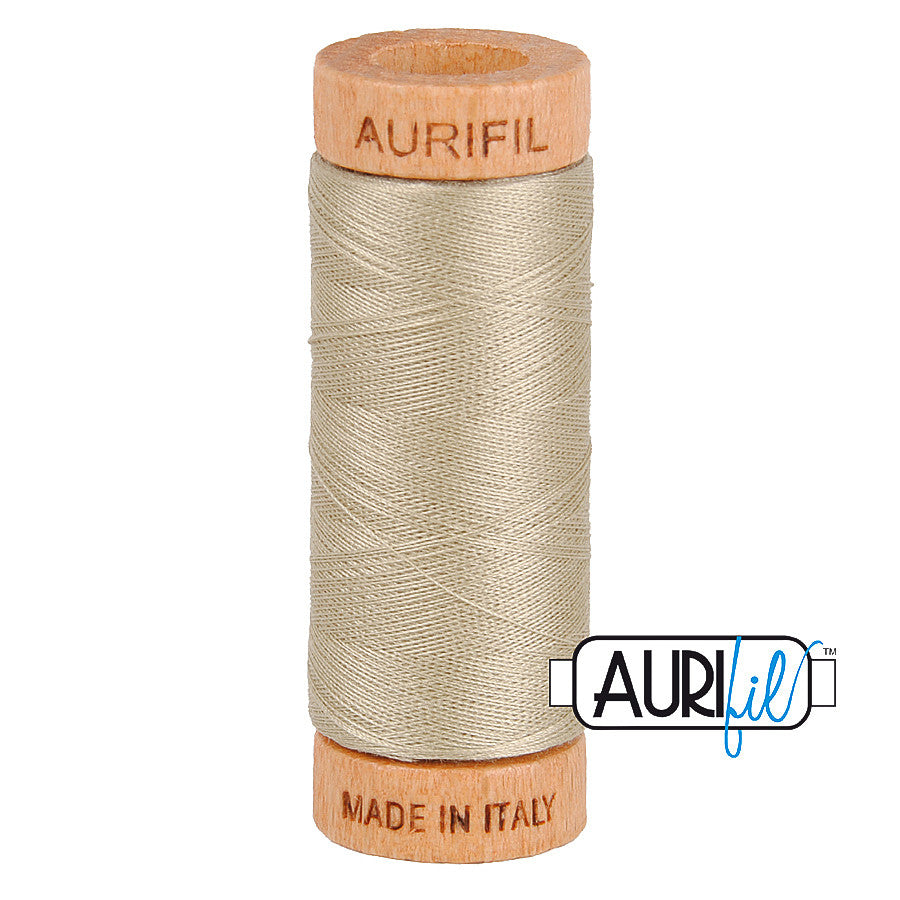 Aurifil Cotton 80wt #2324 Stone