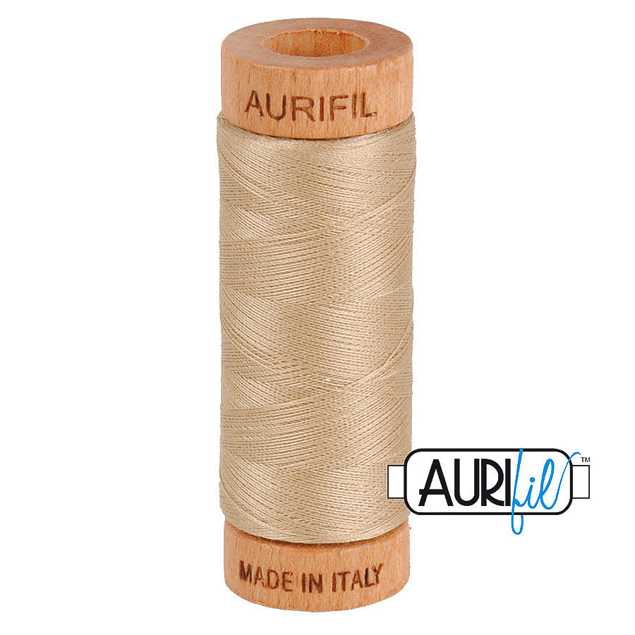 Aurifil Cotton 80wt #2326 Sand