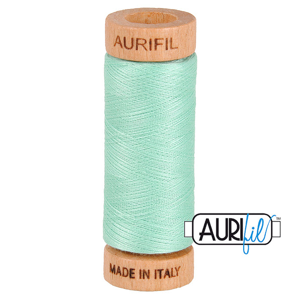 Aurifil Cotton 80wt #2835 Medium Mint