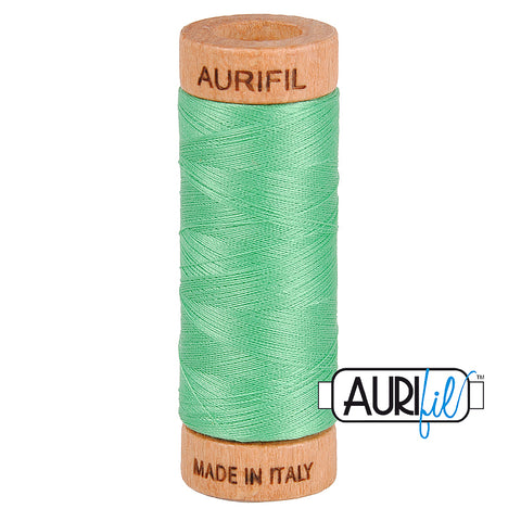 Aurifil Cotton 80wt #2860 Light Emerald