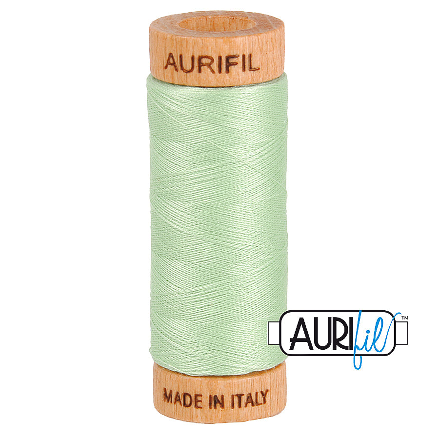 Aurifil Cotton 80wt #2880 Pale Green