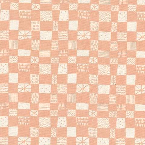 Print Shop by Alexia Marcelle Abegg Grid in Peach