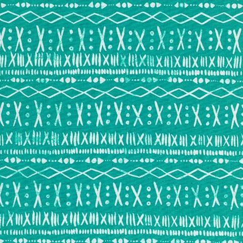 Print Shop by Alexia Marcelle Abegg Stitch in Turquoise
