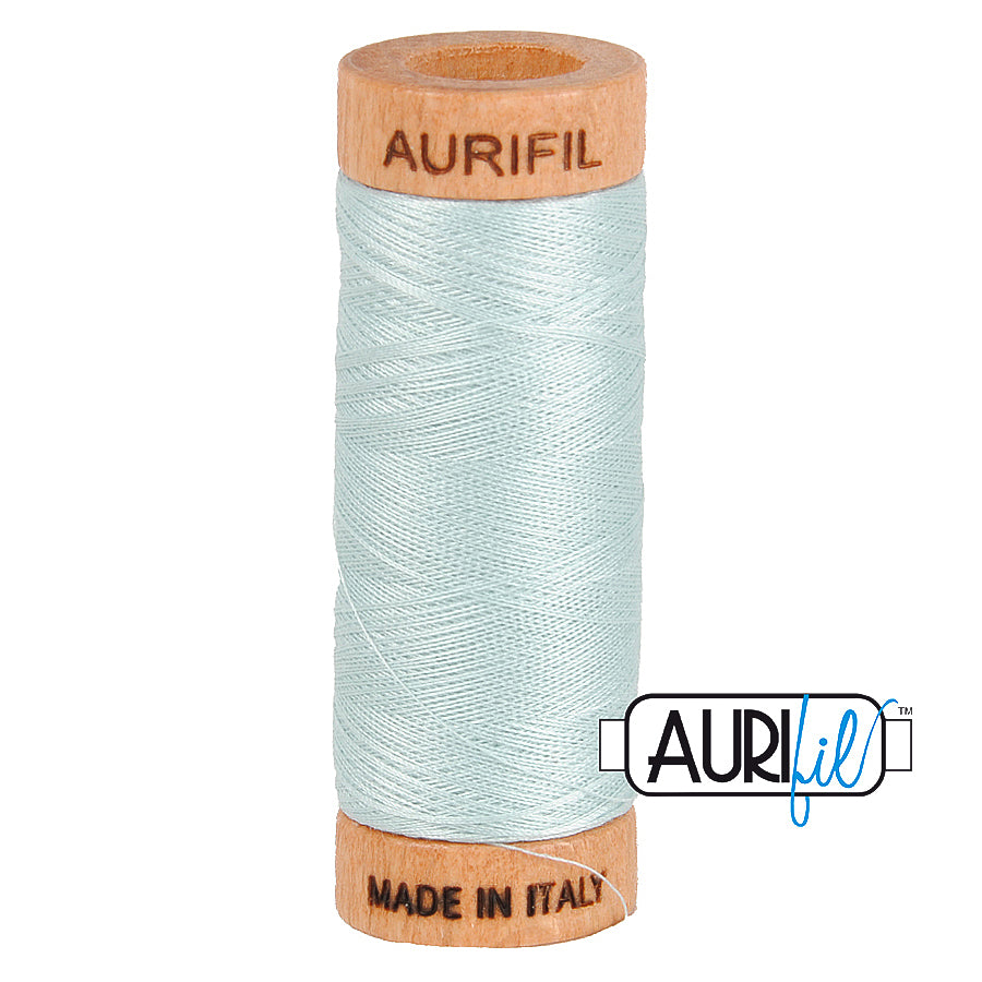 Aurifil Cotton 80wt #5007 Light Grey Blue