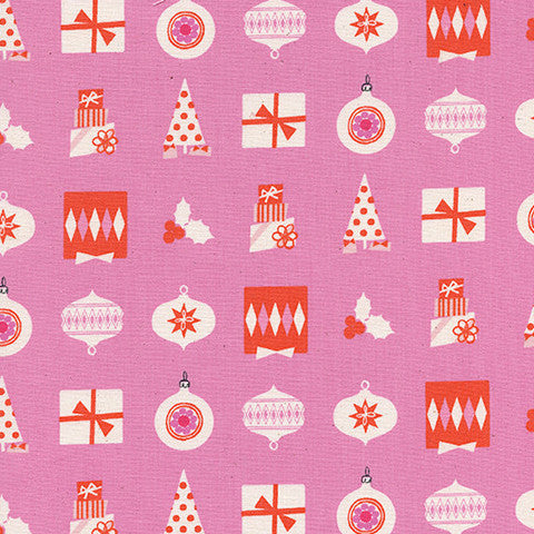 Noel by Cotton + Steel Wrapped Up in Pink