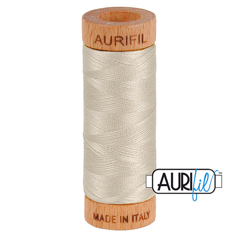Aurifil Cotton 80wt #6725 Moondust