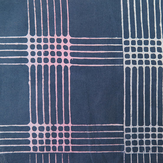 Chroma by Alison Glass Plaid in Shadow