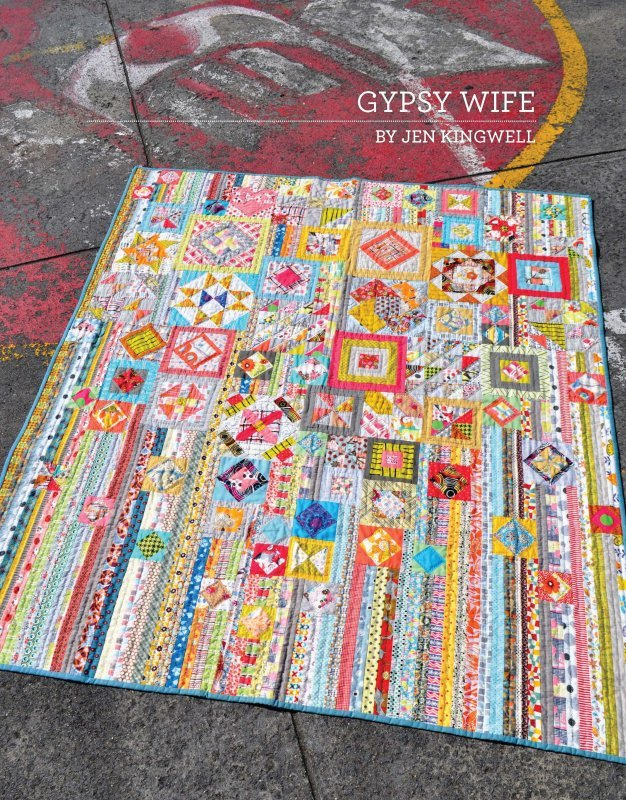 Gypsy Wife Quilt Pattern by Jen Kingwell