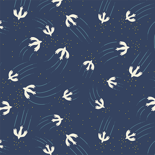 Altitude by Pippa Shaw Birds in Navy