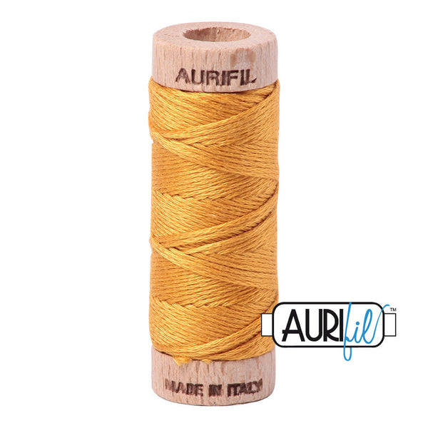 Aurifloss #2140 Orange Mustard