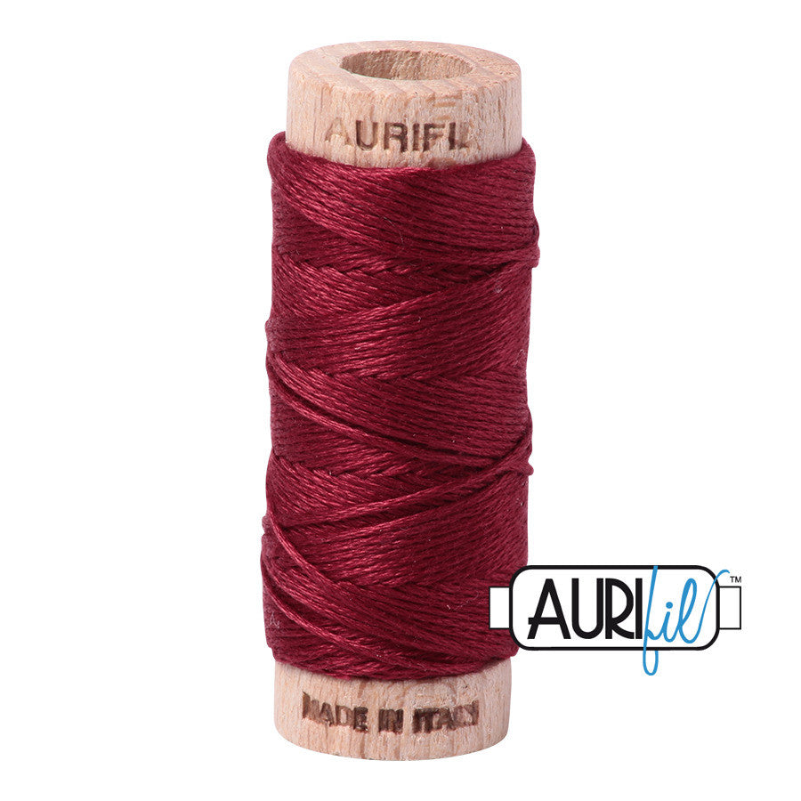 Aurifloss #2460 Dark Carmine Red