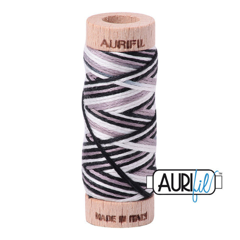 Aurifloss #4652 Liquorice Twist Varigated