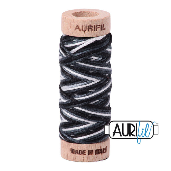 Aurifloss #4665 Graphite Varigated