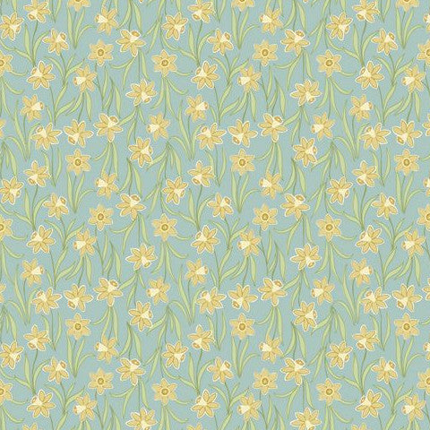 Flo's Little Flowers by Lewis & Irene Daffodils Sage