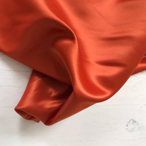 Duchess Satin in Rust
