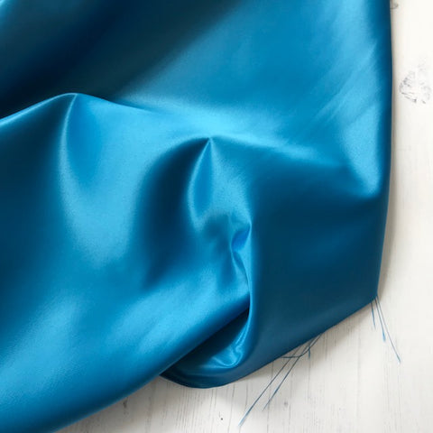 Duchess Satin in Cobalt Blue