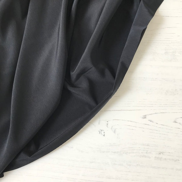 Peachskin Fabric in Black