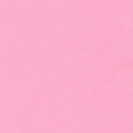 Kona Cotton Solids by Robert Kaufman in Med. Pink