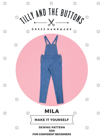 Tilly and the Buttons Mila Dungarees Pattern - NEW!