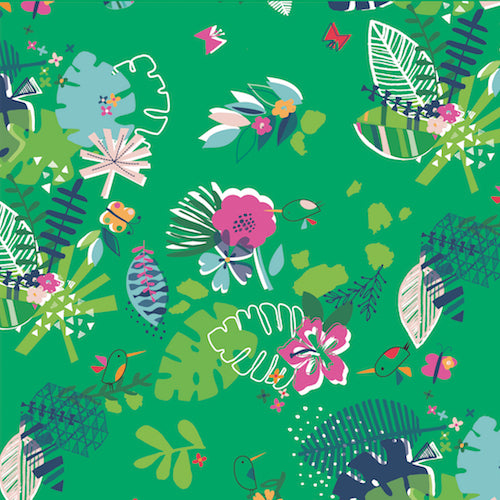 Club Tropicana by Stephanie Thannhauser Green Forest