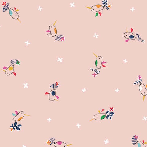 Club Tropicana by Stephanie Thannhauser Pink Bird
