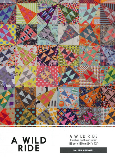 A Wild Ride Quilt Pattern by Jen Kingwell