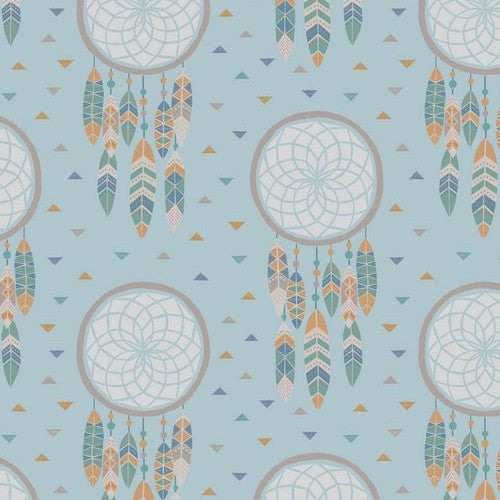 To Catch a Dream by Lewis & Irene Dreamcatchers on Light Blue
