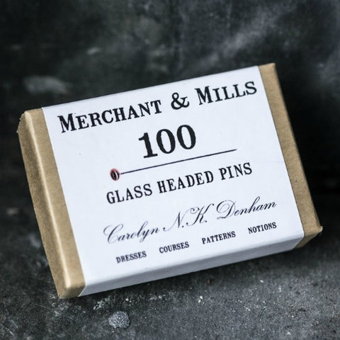 Merchant & Mills Glass Headed Pins