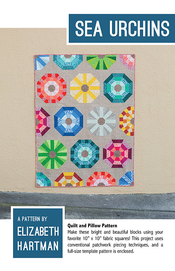Sea Urchins by Elizabeth Hartman Quilt Pattern