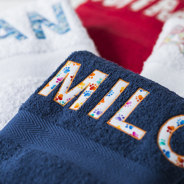 Luxury Personalised Towels