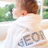 Children's Hooded Bathrobe