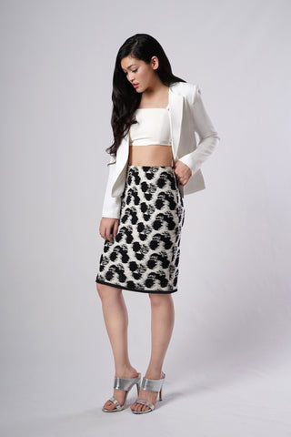 Inkblot 3-Way Convertible Pencil Skirt *sold out